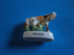 CHEVAUX DE PARADE - APPALOOSA - GRAND MODELE FEVE BRILLANTE - Animales