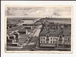 Zeebrugge : Panorama Brugse Vaart  + Hotel Du Port - Zeebrugge