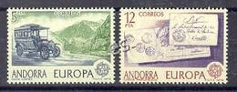 Andorre Esp 1979. Europa. Yv 116-17 (**) - Unused Stamps