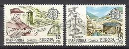Andorre Esp 1983. Europa. Yv 158-59 (**) - Neufs