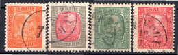 ISLANDE (Dépendance Danoise) - 1902-04 - N° 34 à 38 - (Lot De 4 Valeurs Différentes) - Zonder Classificatie