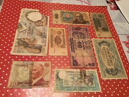 Lot De 36 Billets Voir Le Scan Pour Voir L'état Des Billets - Lots & Kiloware - Banknotes