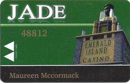 Emerald Island Casino - Henderson NV - Jade Slot Card - Casino Cards