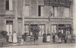 MONTIVILLIERS-76-Seine-Maritime-près Le Havre-Harfleur-Fontenay-Café Restaurant RECHER MAGASIN-COMMERCE- RARE - TOP - - Montivilliers