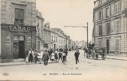 REIMS - Rue De Neufchatel - Bureau De Tabac - Reims