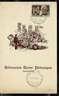 Menu Cercleroyal Phila.  Avec N° 973 Obl. BRUXELLES - BRUSSEL 22/10/55 - Correo Rural