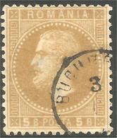 766 Roumanie 1872 5b Bistre Bister (ROU-129) - 1858-1880 Moldavia & Principality
