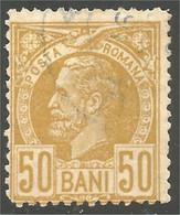 766 Roumanie 1889 50b Bistre Bister (ROU-141) - Usati