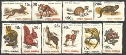 766 Roumanie Volpe Fox Fuchs Renard Hermine Ermine Ecureuil Squirrel MNH ** Neuf SC (ROU-258) - Ohne Zuordnung