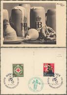 """Bund: Sonderkarte Mi.-Nr. 162 U. 164 SST: """" Deutsche Verkehrsausstellung München 1953  """" !      X - Storia Postale"""