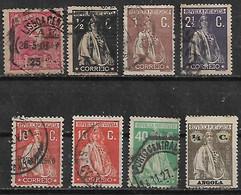 1907-12 Portugal 8v. - Used Stamps