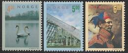 Norway   1999   Sc#1219-21  Tourism Set  MNH  2016 Scott Value $5 - Ungebraucht
