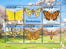 Guinea Bissau 2019 Fauna Butterflies  S201907 - Guinea-Bissau