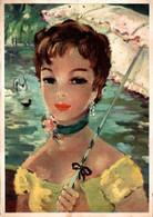 Frimousses De Paris Femme Avec Une Ombrelle   CPM Ou CPSM - Donne