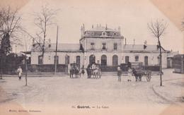 """GUERET """" La Gare , Belle Animation """"    N°9852 - Guéret"""