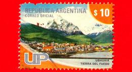 ARGENTINA - Usato - 2008 - Attrazioni Turistiche - Ushuaia - Tierra Del Fuego - $ 10 - Oblitérés