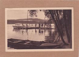 CPA 58 Lac Des Settons Embarcadère De L'hôtel De La Plage - Montsauche Les Settons