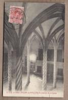 CPA ESPAGNE - PALMA DE MALLORCA - Interior De La Lonja - TB PLAN EDIFICE + Jolie Oblitération 1916 - Palma De Mallorca