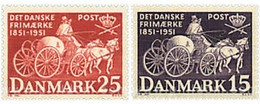 Ref. 95923 * MNH * - DENMARK. 1951. CENTENARY OF THE STAMP . CENTENARIO DEL SELLO - Neufs