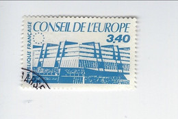 Conseil De L'Europe TS N° 95 Oblitéré 1986 - Afgestempeld
