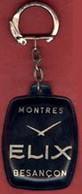 ** PORTE - CLEFS  MONTRES  ELIX  BESANCON ** - Key-rings