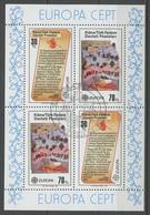 Chypre Turque - Cyprus - Zypern Bloc Feuillet 1982 Y&T N°BF3 - Michel N°B3 (o) - EUROPA - Usados