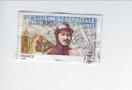 Centenaire De La Première Liaison Postale Par L'aviateur Henri Péquet PA 74 Oblitéré 2011 - 1960-.... Used