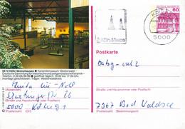 84605) BRD - P 138 R3/40 - 5000 ⨀ 5410 Höhr-Grenzhausen, Keramikmuseum - Postales Ilustrados - Usados
