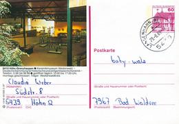 84606) BRD - P 138 R3/40 - 5439 ⨀ 5410 Höhr-Grenzhausen, Keramikmuseum - Postales Ilustrados - Usados