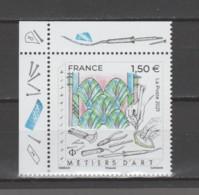 "FRANCE / 2021 / Y&T N° 5471 ** : ""Métiers D'art"" (Vitrailliste) X 1 CdF Sup G - Unused Stamps"