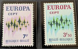 1972 - Europa - Postfris/Mint - Unused Stamps