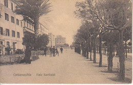 ITALIA - CIVITAVECCHIA - Viale Garibaldi, Animata, Anni 10 - 2021-02-55 - Civitavecchia