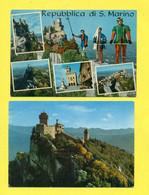 SAN MARINO - LOTTO DI 44 CARTOLINE NUOVE/USATE/ SENZA BOLLO - San Marino
