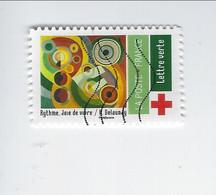"""Au Profit De La Croix-Rouge Adhésif """" Rythme, Joie De Vivre"""" N° 1872 Oblitéré - Luchtpost"""