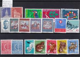 Schweiz 1966, Jahrgang Komplett (B.2541) - Nuovi
