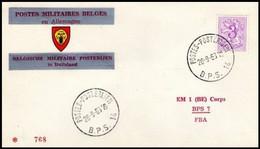 Enveloppe / Envelop / Briefumschlag / Envelope - FBA - BPS14 - Militares (Sellos M)