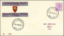 Enveloppe / Envelop / Briefumschlag / Envelope - FBA - BPS4 - Militares (Sellos M)