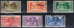 DO 16628 VATIKAAN   GESTEMPELD YVERT NRS 80/85 ZIE SCANS - Used Stamps
