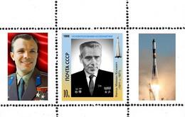 USSR 1986 FOUNDERS OF COSMONAUTICS YANGEL  PROOF - Unclassified