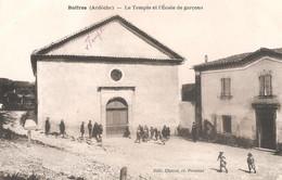 BOFFRES - Le Temple Protestant Et L'école De Garçons - Andere Gemeenten