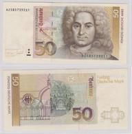 T143645 Banknote 50 DM Deutsche Mark Ro. 305a Schein 1.Okt. 1993 KN AZ 5857392S1 - 50 Deutsche Mark