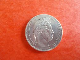 MONNAIE FRANCE.5 FRANCS EN ARGENT.LOUIS PHILIPPE.1841. - J. 5 Francs