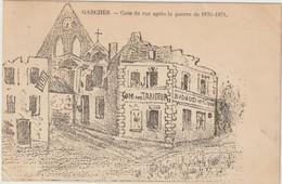 GARCHES  Coin De Rue Après La Guerre De 1870-1871. - Garches