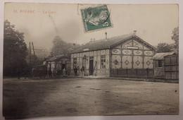 Carte Postale Bolbec La Gare Animée Attelage 1909 - Bolbec