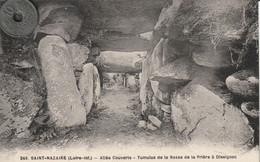44 -Très Belle Carte Postale Ancienne De SAINT NAZAIRE  Tumulus De La Bosse - Saint Nazaire