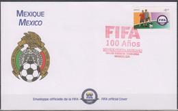 Soccer - Football - FIFA - MEXICO - FDC Cover - Sin Clasificación