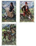 Ref. 46150 * MNH * - ANDORRA. Spanish Adm.. 1979. TRADITIONAL COSTUMES . COSTUMBRES TRADICIONALES - Non Classificati