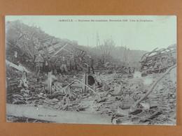 Jamioulx Explosion Des Munitions Novembre 1918 Lieu De L'explosion - Chatelet