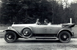 ROLLS ROYCE VINTAGE SILVER GHOST BARKER TOURER  20*13.5CM MOTOR CARS COCHES Bryan Goodman Collection - Auto's