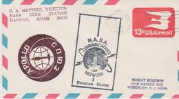 N°1234 N -lettre (cover) Nasa Communicatins Dandan, Guam - - USA